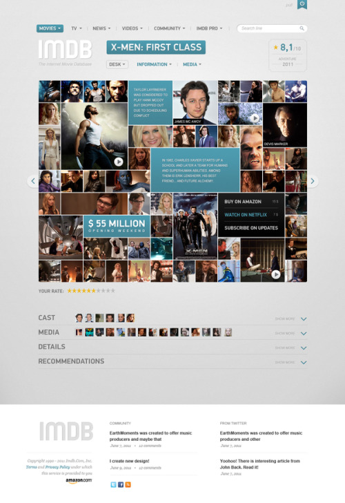 cjwho:  Web Design: Great IMDB Concept ~ http://bit.ly/pqN2KI