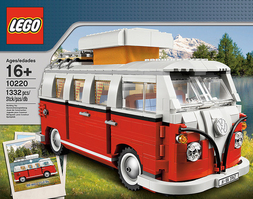 LEGO Volkswagen T1 Camper Van  Hello Lego Volkswagen, Two of my favorite things in one.