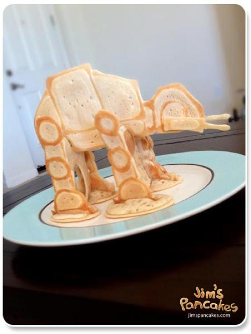 totalfilm:  AT-AT Pancake Just the kind of breakfast you need on Hoth…