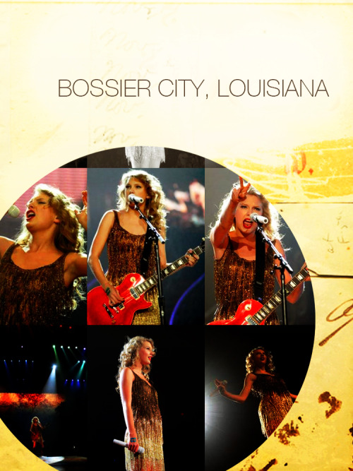 Speak Now Tour | Bossier City, Louisiana September 20