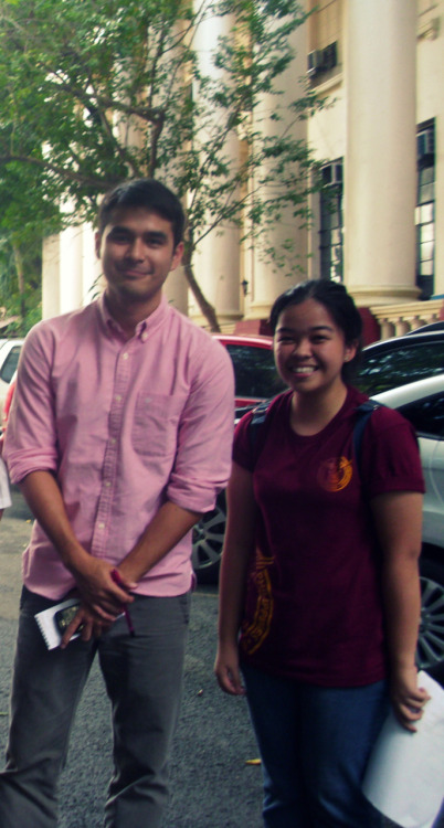 with Atom Araullo :)