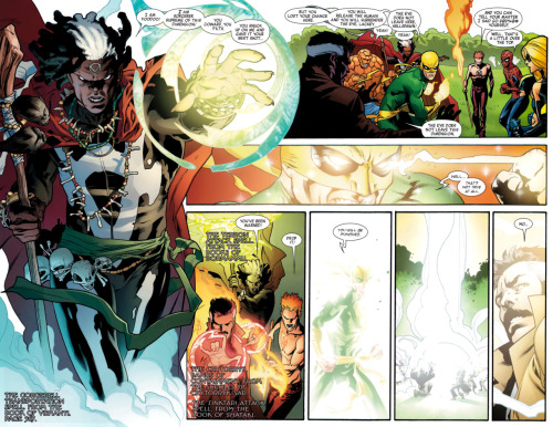 New Avengers 02: Doctor Voodoo