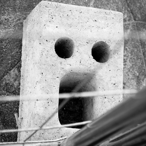 Concrete surprise on Flickr.The concrete scream?