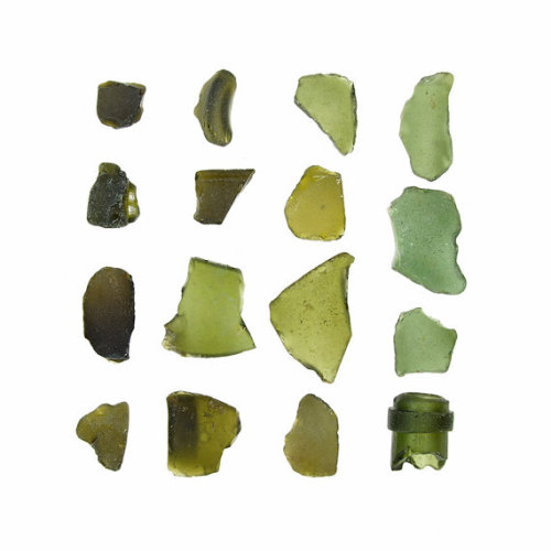 etsy:  (via Olive Green Sea Glass 12 x 12 fine art by quercusdesign on Etsy)
