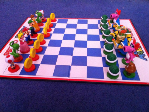 kphuu:  Super Mario chess!
