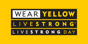 LIVESTRONG DAY OCT. 2 WEAR YELLOW! Also, check in soon cause I have some cool news to share with you all next week. : )