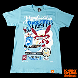 "johnnycupcakes:  Show your support for the Johnny Cupcakes x Nickelodeon collaboration by reblogging your favorite shirt from the release! When you reblog, make sure to add the tag, ""JCxNICK"" and you will be entered into our sweepstakes to win a Johnny Cupcakes x Nickelodeon collaboration t-shirt of your choice. The sweepstakes will conclude at midnight (EST) on September 22nd, and 5 winners will be chosen at random. Winners will be announced on the Tumblr page and contacted for shirt preference and size. Good luck!"