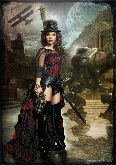 full-steam-ahead:  Steampunk Slayer by ~gregd-photography   Oh my I am in love…
