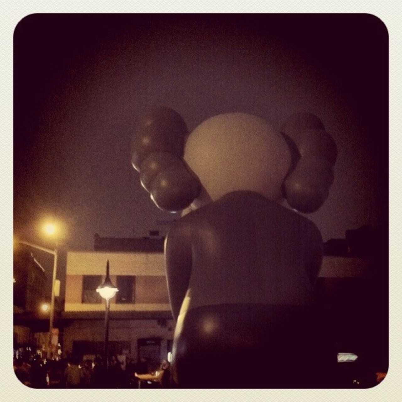 Like this photo of the KAWS installation in front of The Standard, New York? Vote for it and win $200!