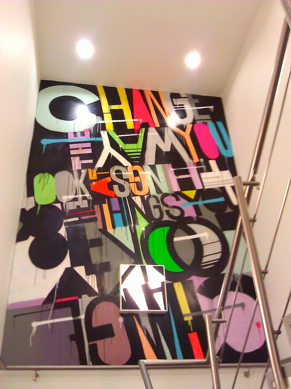 Street Art in Engine London (5th Floor)