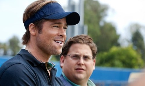 Can You Enjoy 'Moneyball' Even If You Don't Like Baseball? Out in theaters now, Brad Pitt and Jonah Hill play employees of a Major League Baseball team in 'Moneyball' — a movie about baseball that's not really a movie about baseball (even though it is a movie about baseball). Is 'Moneyball' about baseball? As a service, here's an answer to every question you could possibly have about 'Moneyball.'