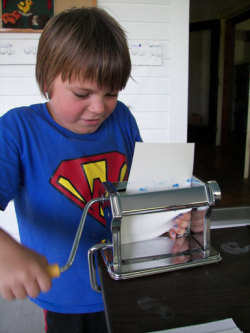 (via Pasta Machine Prints « Making Art with Children)