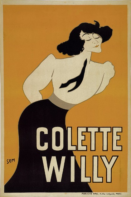 poboh:  Poster depicting Colette Willy, Georges Goursat. French (1863-1934)