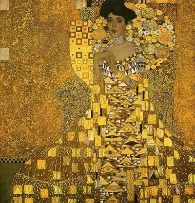 Portrait of Adele Bloch-Bauer IGustav Klimt1907Neue Galerie New York, New York City, NY, USA Austrian artist Gustav Klimt is probably most known for this piece, which at one point was the most expensive painting ever sold - for a whopping $135 million. What people may not know about this painting is its interesting ownership history. The painting's subject, Ms. Adele Bloch-Bauer, passed away in 1925 with the request in her will that this painting, along with a four others by Klimt, be donated to the Austrian State Gallery. When her widower husband fled Austria during WWII, his property (including this painting) was confiscated by the Nazis. Later, in his 1945 will, he bequeathed the Klimt paintings to his nieces and nephews. In 1998, the Austrian government ordered that all paintings confiscated by the Nazi party be returned to their owners. At this time, the paintings had been on display in Vienna for over 60 years, and the Austrian government felt that they were the rightful owners because Bloch-Bauer had specified in her will that the paintings be hung in an Australian gallery. Bloch-Bauer's nieces and nephews felt that they were the rightful owners, as the paintings had been granted to them in their uncle's will. After a long legal battle, it was decided in 2004 that Ms. Maria Altmann, niece to Bloch-Bauer, was the rightful owner of the Klimt paintings. In 2006, it was sold to Ronald Lauder and the Neue Galerie in New York in the infamous $135 million transaction.