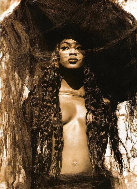 Naomi Campbell, 1992Photographer: Herb Ritts