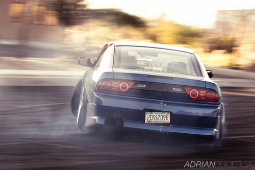 OOF'er Page's S13.5 before the wing with the Equips