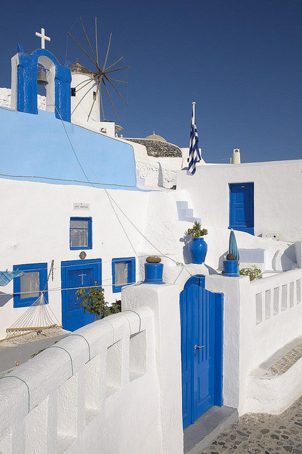 travelthisworld:  Oia, Santorini, Greece