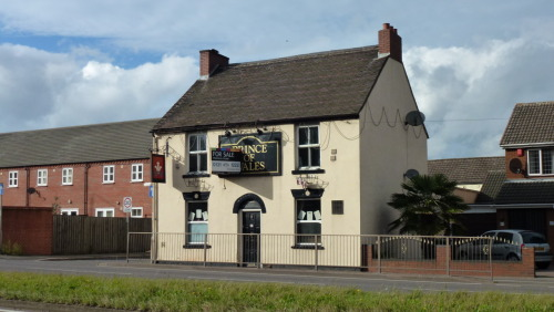 September 22nd - Taking a shoot round Brownhills, I saw that old Brownhills pub, The Prince of Wales, is up for sale again - I don't know if it's still open in the meantime or what. The parent holding company have crashed into administration. I'm hoping the pub finds a buyer soon - it's one of the few traditional boozers left in Brownhills.