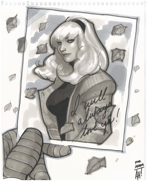 whoismistere:  Gwen Stacy by *AdamHughes