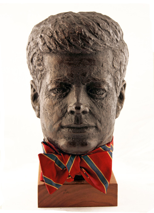 kieljamespatrick:  JFK Bust F.E. Castleberry stole from me.