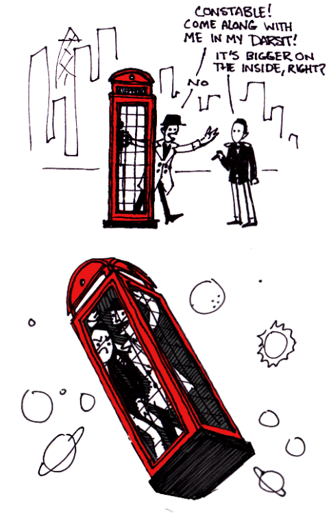 effington:  vondell-swain:  inspector spacetime  Nice. The Gherkin is adds realism.