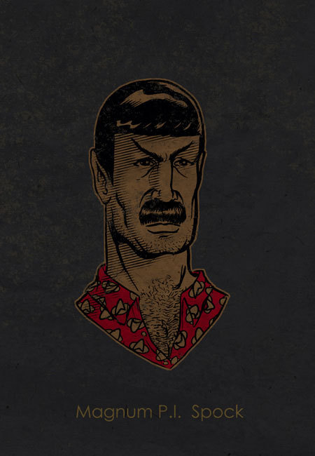 (via Magnum P.I. Spock | The Retroist)