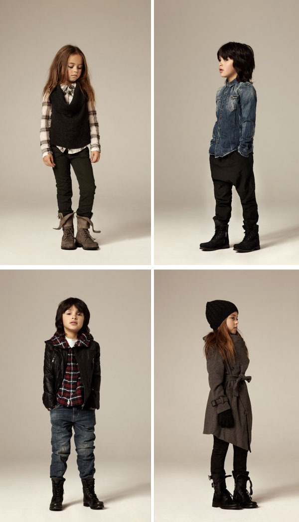 justmui:  All Saints children's line.