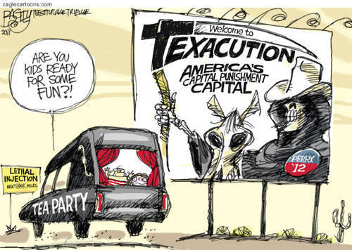 leftish:  Tea Party Vacation!