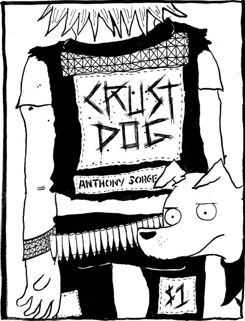 YES! The Crust Dog mini is finally done! 12 pages!! I'm so psyched about how it came out. If you love dogs and hate crust punks, this is the comic for you. Message me for details on how to get your hands on one! I'll throw in a free doodle/sketch/little something too!