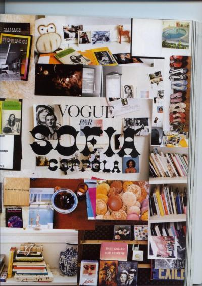 The Sofia Coppola issue of Paris Vogue.