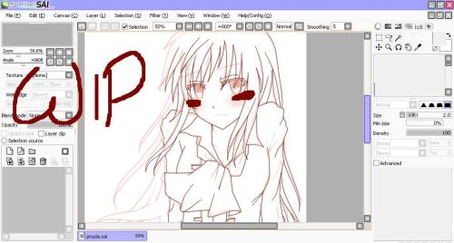 Work In Progress lineart ORZ