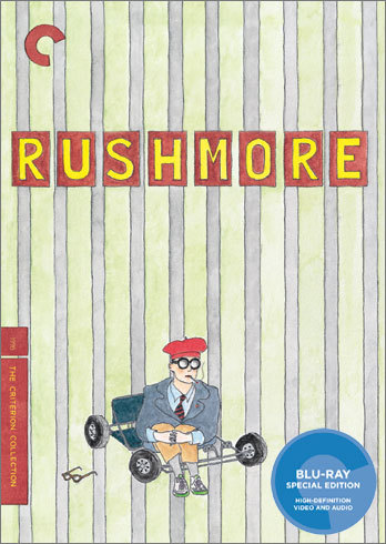 Rushmore Criterion Edition blu-ray dir. Wes Anderson (i can't wait for this!)