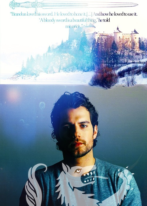 aeslinn:  A Song of Ice and Fire: Tourney at Harrenhal Era Fancast Henry Cavill as Brandon Stark