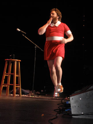 Zach Galifianakis by FunnyorDie.com on Flickr.