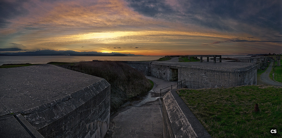 fort casey near coupeville, WA