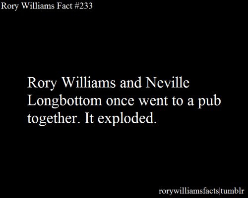 rorywilliamsfacts:  Submitted by theprophetspeaks.