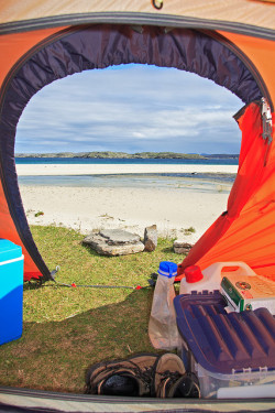 View From Tent by Duncan_Smith on Flickr.