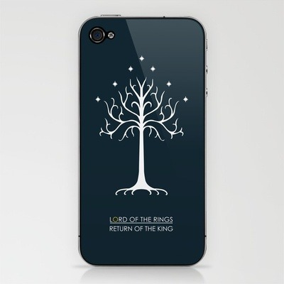 Get yourself a gorgeous Return of the King iPhone skin by me!