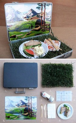 vikkiage:  dyingofcute:  Creating a pic-nic  This is the cutest thing I've ever seen. IF ANYONE WANTS TO WIN MY HEART…