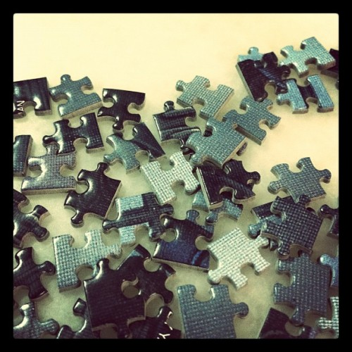 Can you find your neighbor? #puzzle #saturdaynight (Taken with instagram)