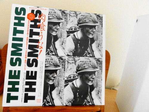 The Smiths 'Meat is murder', japanese #vinyl LP, 1985. Mint condition.
