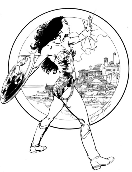 Wonder Woman by Simon Fraser