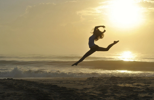 a leap to sunrise by kimberly_fox on Flickr.