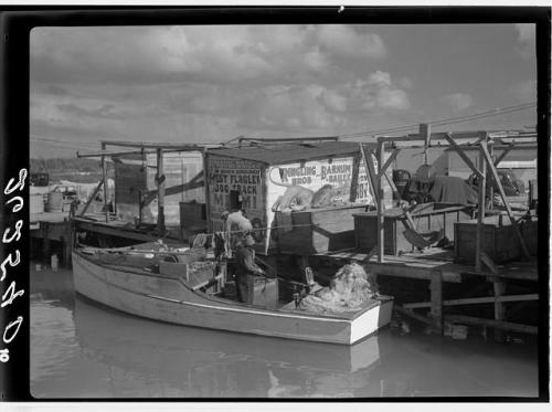 Fishing Wharf in Lower Matecumbe, 1938. Source: Library of Congress