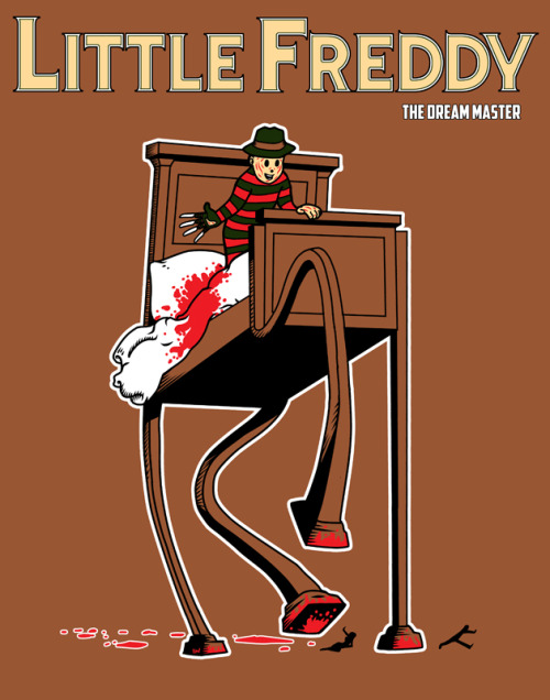 laughingsquid:  Little Freddy by Timothy Lim  Both movies fucked with my head as a kid.