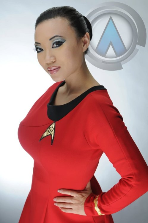 demonsee:  Anovos - Star Trek TOS dress by *yayacosplay