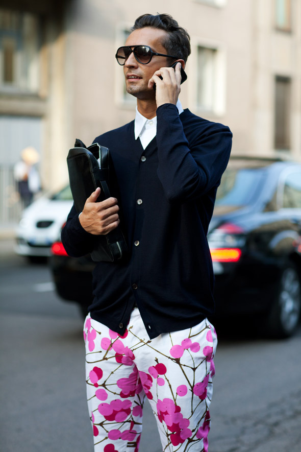 """""""Late Bloomer…Milan"""" taken from The Sartorialist. If ony men in the US dressed like this"""