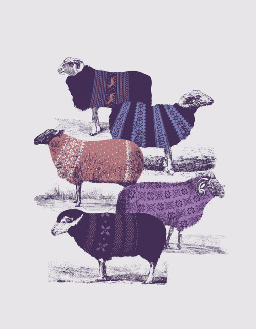mayonaka:  Cool Sweaters Art Print by Jaakie201 | Society6