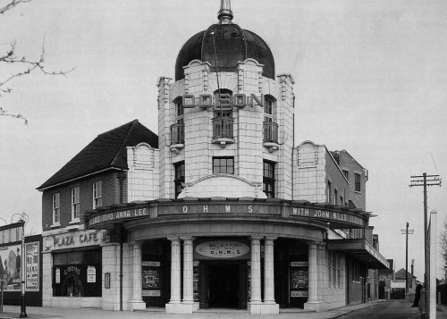The Odeon Theatre in Watford, England, via archimaps