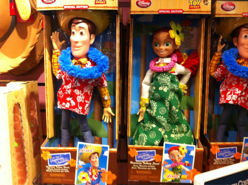 Hawaiin Toy Story Dolls